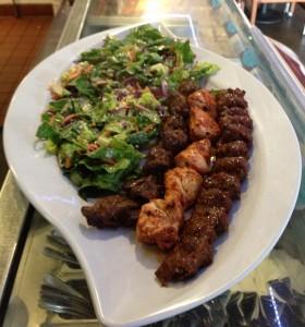 Sofra salad kebab 1